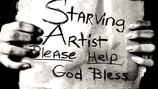 Starving Artist (foto Ebony Lace/Rants Within the Undead God)