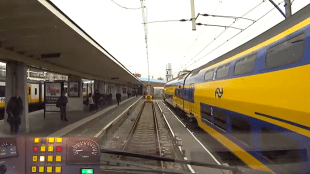 Station Den Helder (foto YouTube)