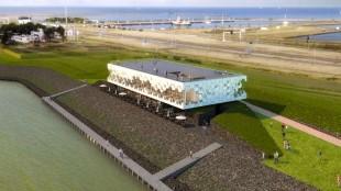 Afsluitdijk Wadden Center (foto De Nieuwe Afsluitdijk)