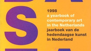 Cover Basta 1998 a yearbook of contemporary art in the Netherlands jaarboek van de hedendaagse kunst in Nederland