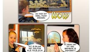 Kunst & Kids obs De Dijk – Britt-Thijs-Amana: WOW