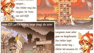 Martin Man – Sofietje's Helders Weekblad Cartoon-Chronicles (39): Klimaatverandering en andere donkere rampen