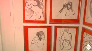 Tekeningen van Rob Scholte bij Niet Netjes (foto YouTube)