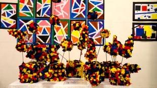 Werk van OBS De Dijk in het Rob Scholte Museum (foto OBS De Dijk)