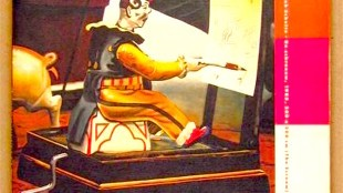 A hermetic machine, new art in The Netherlands, spring 1986, nr. 6 (foto Gerard Hadders, afbeelding Rob Scholte - De Schreeuw)