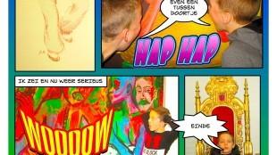 Kunst & Kids obs De Dijk – Sem-Bas-Quinn: I am Wolverine