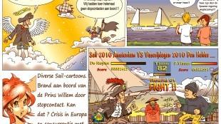 Martin Man – Sofietje's Helders Weekblad Cartoon-Chronicles (51): Diverse Sail-Cartoons