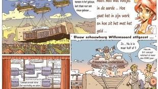 Martin Man – Sofietje's Helders Weekblad Cartoon-Chronicles (55): Verhuizing Schouwburg heeft heel wat voetjes in de aard...