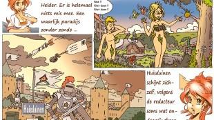 Martin Man – Sofietje's Helders Weekblad Cartoon-Chronicles (58): Huisduinen, het kleine paradijs vlak bij Den Helder