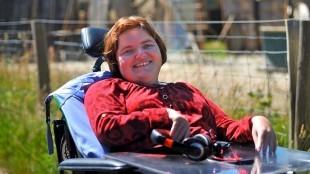 Robin Corbee kan goed met haar handicap omgaan: 'Met iedereen is wel iets mis' (foto Rodi/Facebook)
