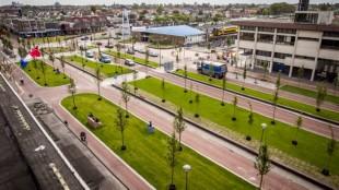 Stationsgebied Den Helder rekent af met verloederd imago (foto Straatbeeld)