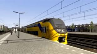 Virm vertrekt van station Den Helder (foto YouTube)