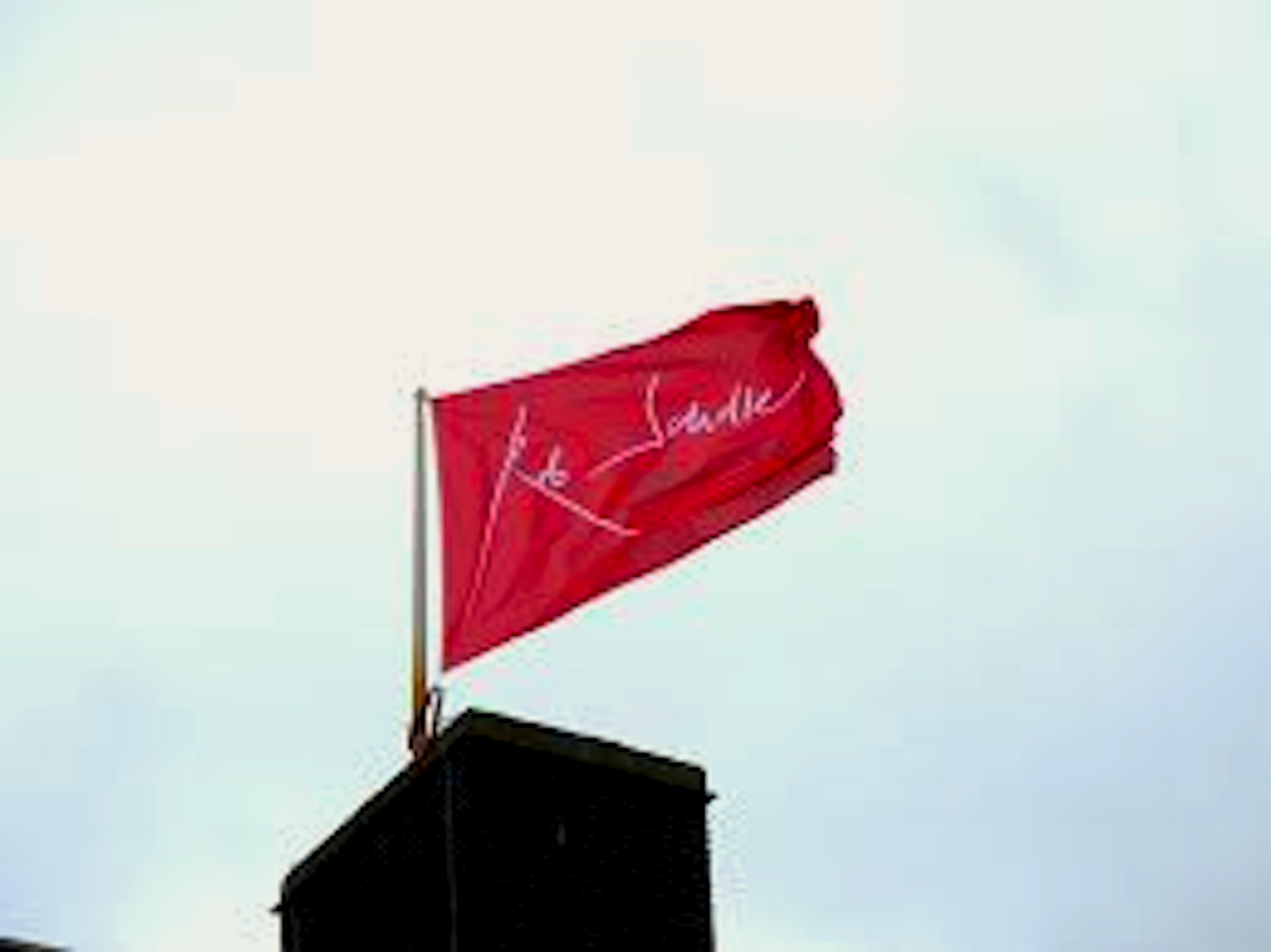 Vlag op het dak van het RSMuseum (foto Nico van der Ham)