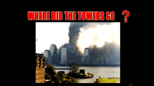 Where did the towers go? (foto YouTube)