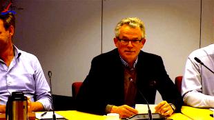 Burgemeester Koen Schuiling (foto Staf RSMuseum)