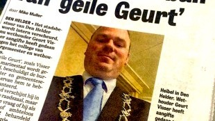 Den Helder in de ban van geile Geurt (foto Onafhankelijk Rijswijk)