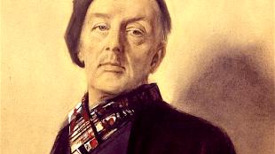 Han van Meegeren - Zelfportret