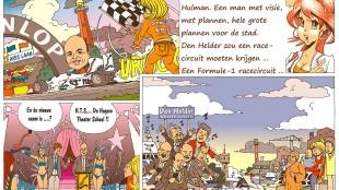 Martin Man – Sofietje's Helders Weekblad Cartoon-Chronicles (70): En toen kreeg Den Helder een nieuwe burgemeester...