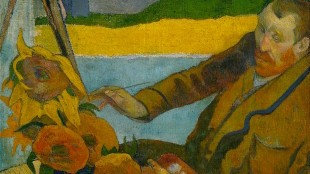 Paul Gauguin - The Painter of Sunflowers (Portrait of Vincent van Gogh)
