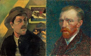 Paul Gauguin and Vincent Van Gogh's friendship turned sour