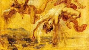 Peter Paul Rubens - De val van Icarus (foto Wikipedia)
