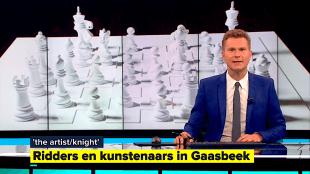 Ridders en kunstenaars in Kasteel Gaasbeek (foto Het Journaal 7)