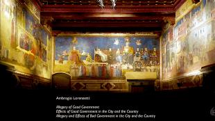 Ambrogio Lorenzetti - Palazzo Pubblico frescos