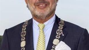 Burgemeester J.R.A. Nawijn (foto gemeente Hollands Kroon)