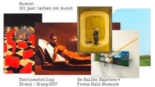 De Hallen Haarlem - Humor. 101 jaar lachen om kunst (foto YouTube)