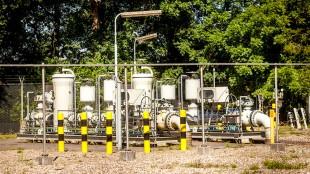 Gaswinning in Hardenberg (foto Sem van der Wal)