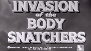 INVASION 0f the BODY SNATCHERS (foto)