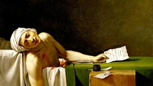 Jacques-Louis David - La Mort de Marat (foto Wikimedia)