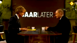Jeroen Pauw & Lange Frans in 5 Jaar Later (foto YouTube)