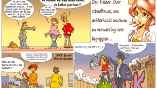 Martin Man – Sofietje's Helders Weekblad Cartoon-Chronicles (77): Nog meer jeugd in Den Helder