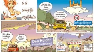 Martin Man – Sofietje's Helders Weekblad Cartoon-Chronicles (79): Den Helder en de onmogelijke mogelijkheden