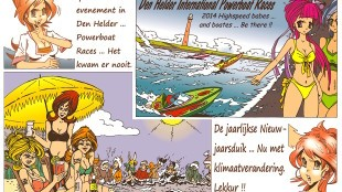 Martin Man – Sofietje's Helders Weekblad Cartoon-Chronicles (80): Weer een spectaculair evenement in Den Helder