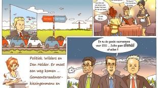 Martin Man – Sofietje's Helders Weekblad Cartoon-Chronicles (81): Hij komt eraan... De PVV-Autobaan