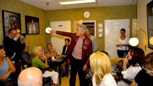 Paul Blanca bij Aris Laan in Den Helder (foto Bert Aggenbach)