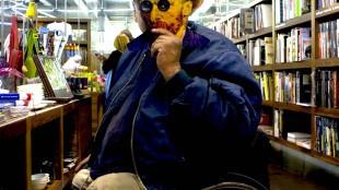 Rob Scholte als Vincent van Gogh (foto Norbert van Leyen)