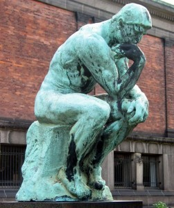 Auguste Rodin - The Thinker (foto Hans Anderson: Wikimedia Commons)