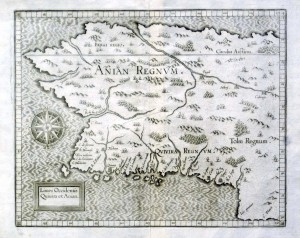 Cornelis Wytfliet - Anian Regnum 1597