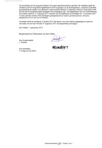 Gemeente Den Helder - Raadsinformatiebrief Nr. RI17.0104, 1 september 2017, pagina 2 van 2