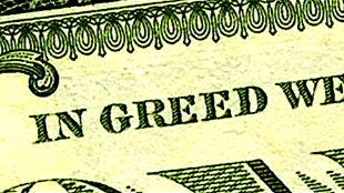 In greed we trust (foto YouTube)