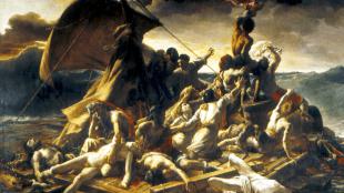 Jean-Louis Théodore Géricault - Le radeau de la Méduse