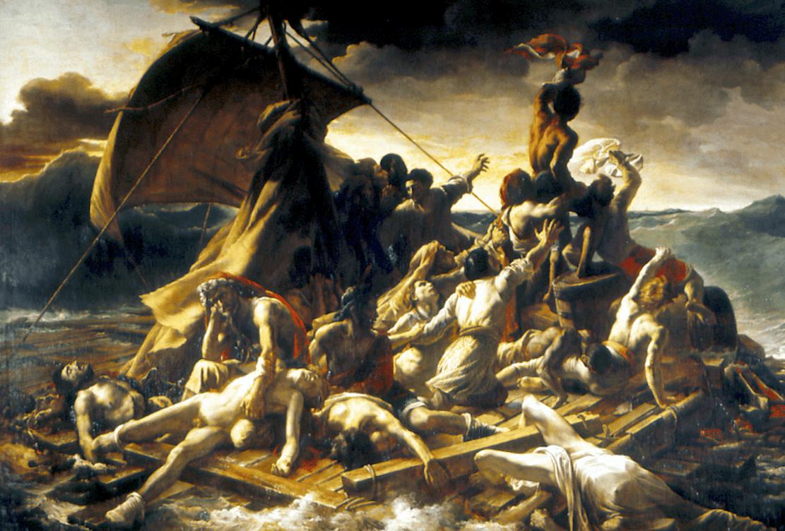 Jean-Louis Théodore Géricault – Le radeau de la Méduse