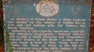 Madoc Plaque in Mobile, Alabama