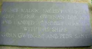 Madoc Stone in Wales