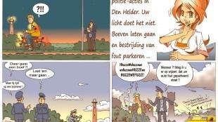 Martin Man – Sofietje's Helders Weekblad Cartoon-Chronicles (100): Nog wat gekke politie-acties in Den Helder