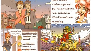Martin Man – Sofietje's Helders Weekblad Cartoon-Chronicles (91): Woningstichting Den Helder
