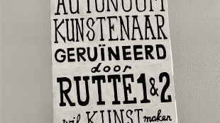 Nelle Boer - Autonoom kunstenaar geruïneerd door Rutte 1 & 2 wil kunst maken voor kunst
